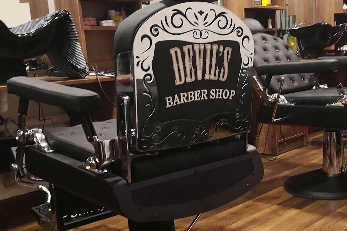 Silla de barbería Praga
