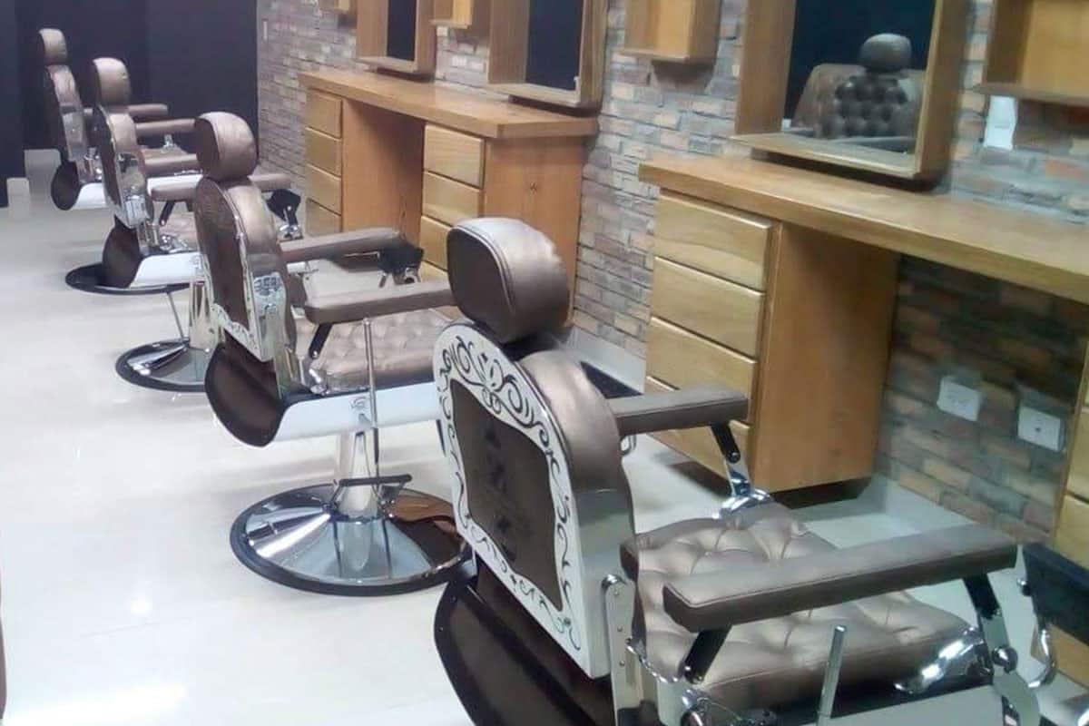 Asientos para barbería