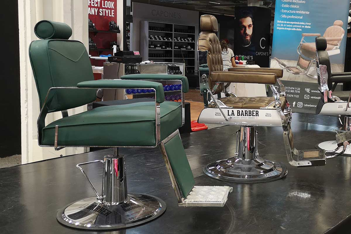 Precios de sillas para barbería