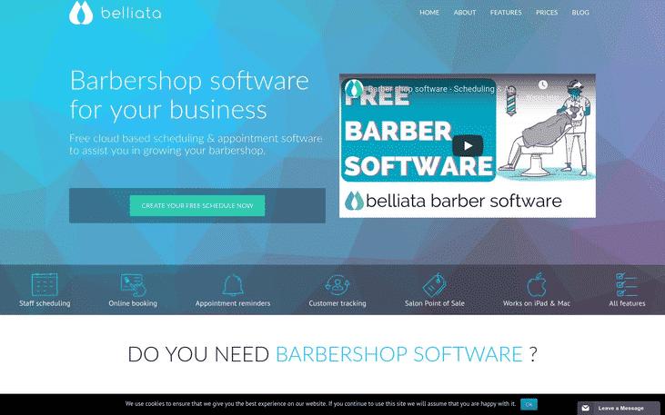 Software para administración de barberías