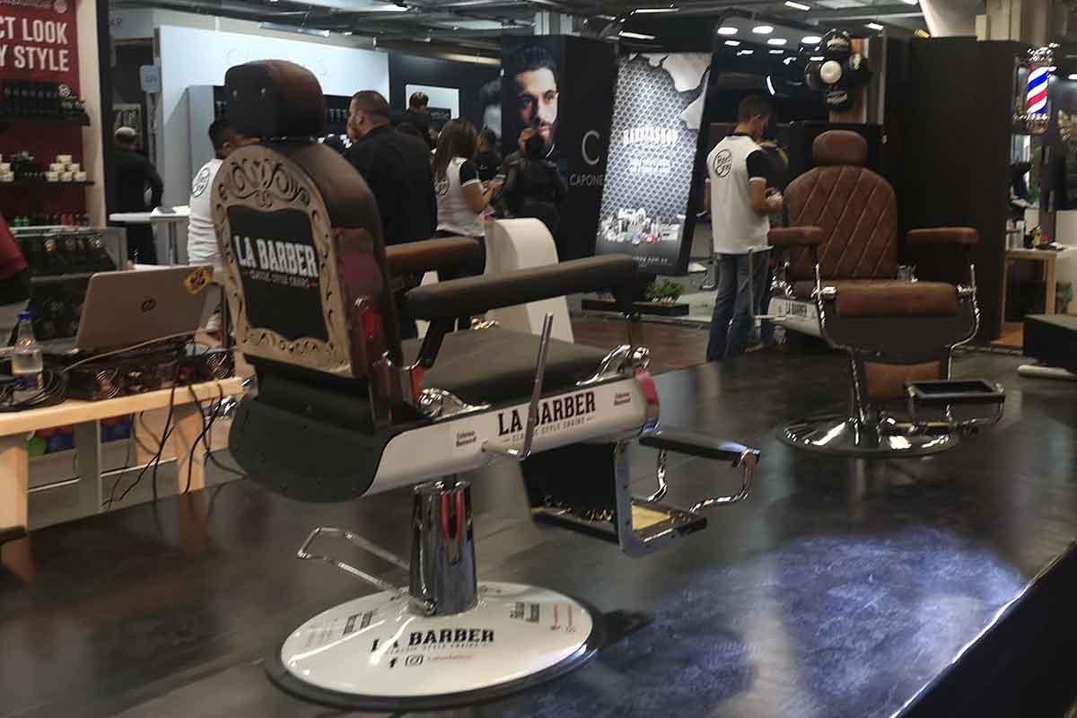 Muebles de barbería en Colombia